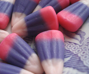 candy, purple, and Halloween image
