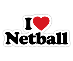 heart, sport, and netball image
