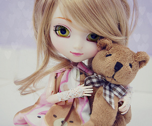 doll and girl image