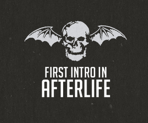 avenged sevenfold, black and white, and fan art image
