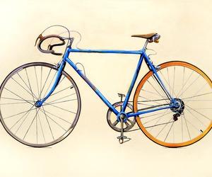 bike and illustration image