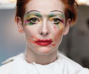 Tilda Swinton and makeup image