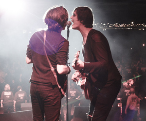 carl barat, festival, and pete doherty image