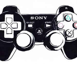 joystick and video game image