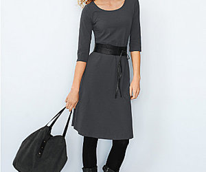 belt, dress, and simple image