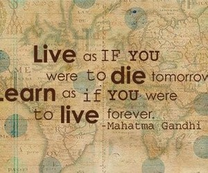 life, quote, and typography image