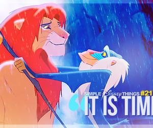 lion king, rafiki, and disney quotes image
