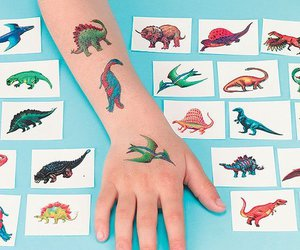 90's, temporary tattoos, and cool image