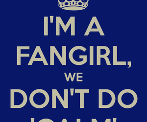 fangirl, keep calm, and one direction image