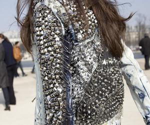 jacket, fashion, and denim image