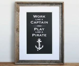 captain, motto, and pirate image