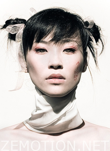 asian and white image
