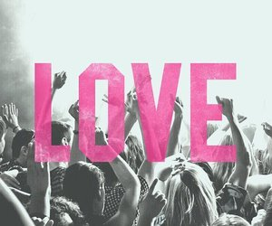 love, pink, and party image