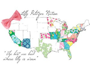 lilly pulitzer, preppy, and lilly pulitzer nation image