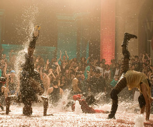 dance, water, and step up image