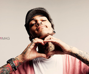 travie mccoy, heart, and tattoo image