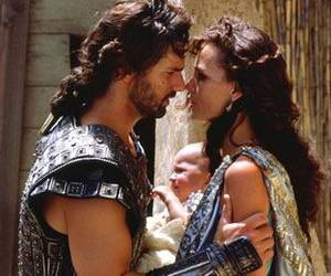 troy, andromache, and Eric Bana image