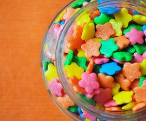 stars, colorful, and candy image