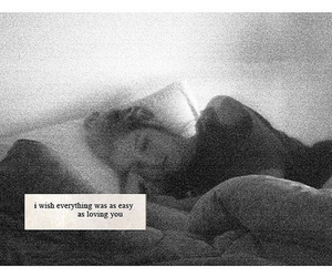 bed, couple, and text image