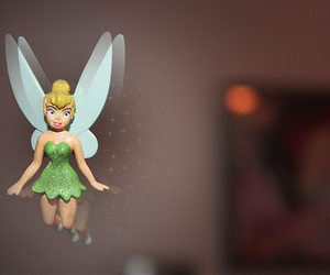 disney, magic, and tinkerbell image