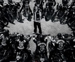 harley davidson, sons of anarchy, and sond of anarchy image