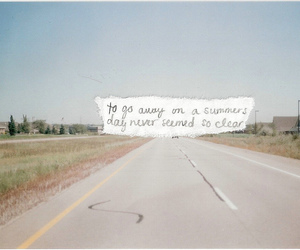 quote, roadtrip, and words image