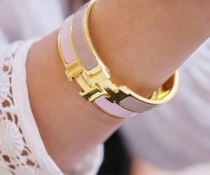 fashion, hermes, and bracelet image