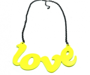 beauty, love, and necklace image