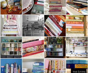 addicted, books, and library image