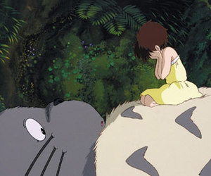 totoro and studio ghibli image