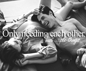 couple, cute, and quote image