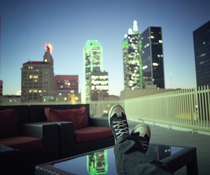 city, Dallas, and roof image
