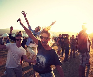 beach, fun, and party image