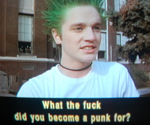 fuck, punk, and wtf image
