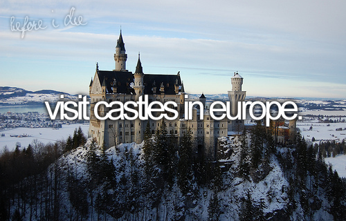 castle, europe, and before i die image
