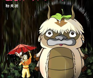 anime, avatar, and My Neighbor Totoro image
