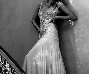 dress, model, and pretty image