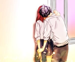 ao haru ride, anime, and kiss image