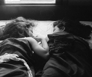 girl, friends, and sleep image