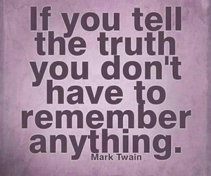 quote, truth, and remember image