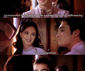 blair, blair waldorf, and chuck image