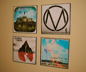 a rocket to the moon, pierce the veil, and the maine image