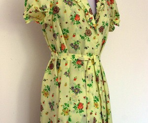 60's, yellow, and clothing image