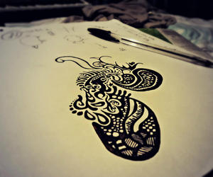 art, awesome, and black image