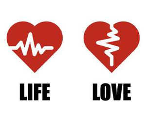 heart, life, and love image