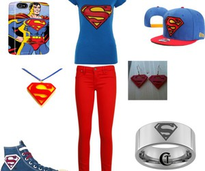 superman, converse, and style image