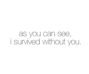 quote, survive, and you image