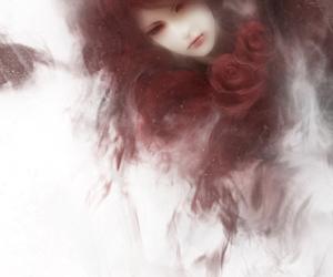 art, fantasy, and roses image