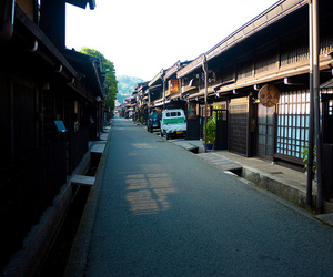 city, house, and japan image