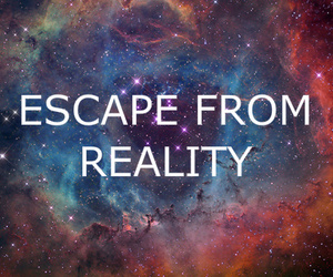 escape, quote, and reality image